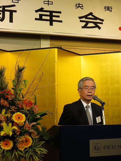 鈴木理事長よりご挨拶。
